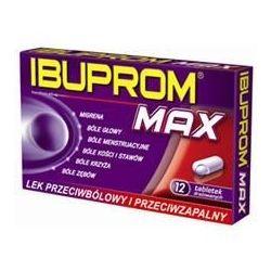 Ibuprom Max - 400 mg * 12 tabletek