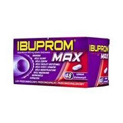 Ibuprom Max - 400 mg * 48 tabletki