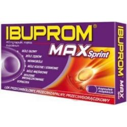 Ibuprom Max Sprint * 20 kapsułek