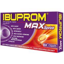Ibuprom Max Sprint  * 10 kapsułek