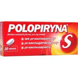 Polopiryna S - 300 mg *  20 tabletek