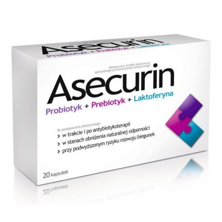 Asecurin * 20 kaps