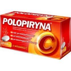 Polopiryna C * tabletki musujące * 10 szt