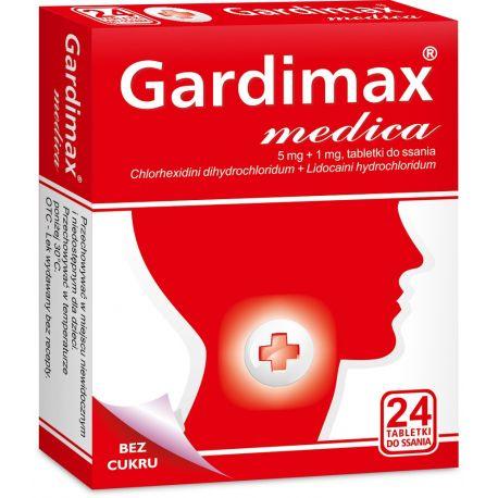 Gardimax Medica * 24 pastylki