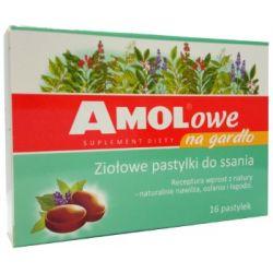 Amolowe na gardlo * 16 pastylek