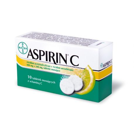 Aspirin C * 10 tabl musujacych