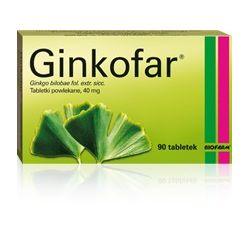 Ginkofar 40 mg * 60 tabl