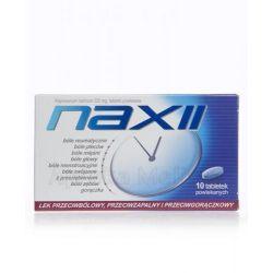 Naxii - 220 mg * 10 tabletek