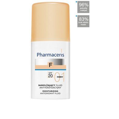 Pharmaceris F * Fluid nawilżający 01 Ivory SPF 20 * 30 ml