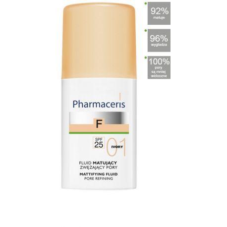 Pharmaceris F * Fluid matujący 01 Ivory SPF 25 * 30 ml