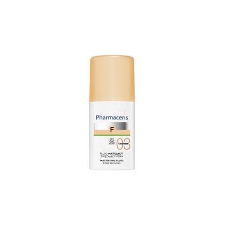 Pharmaceris F * Fluid matujący 03 Tanned SPF 25 *  30 ml