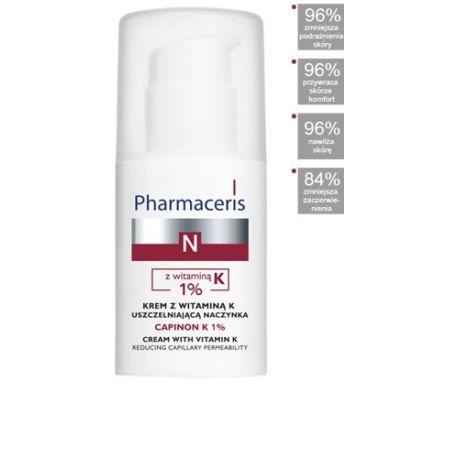 Pharmaceris N Capinon K 1% * Krem z wit . K * 30 ml