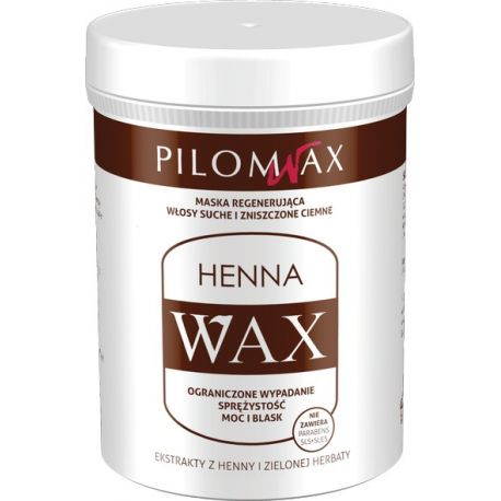 Wax * Maska do włosów ciemnych * 240 ml