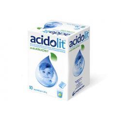 Acidolit o smaku jabłkowym * 10 saszetek