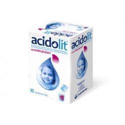 Acidolit o smaku malinowym *  10 saszetek
