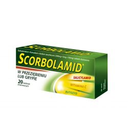 Scorbolamid * 20 tabletek