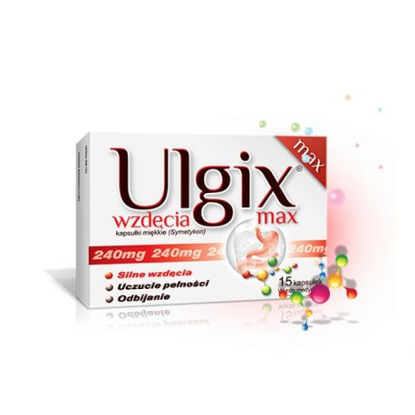 Ulgix - Wzdęcia max * 15 kaps