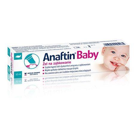 Anaftin Baby * żel na ząbkowanie * 10 ml