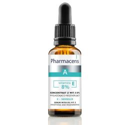 Pharmaceris A Sensilix * Koncentrat z wit . E 8 % * wygładzająco - regenerujący * 30 ml