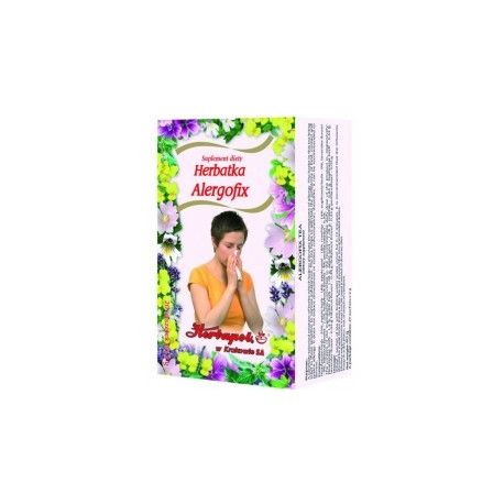 Herbapol * Herbatka - Alergofix *  20 saszetek