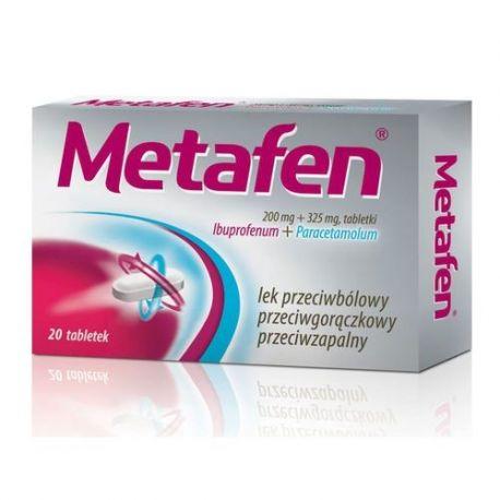 Metafen * 20 tabletek