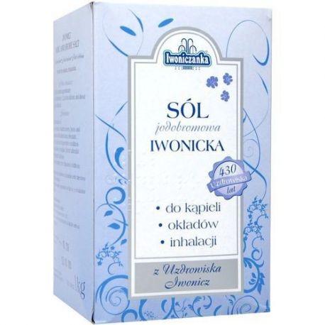 Sól Iwonicka - jodowobromowa * 1kg