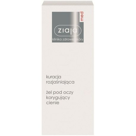 Ziaja - Med * Żel  pod oczy korygujący cienie * 15 ml