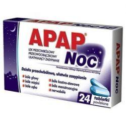 Apap - Noc  * 24 tabletki