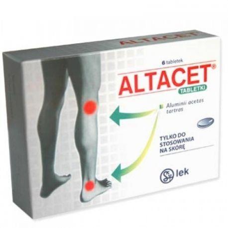Altacet - tabletki  * 6 szt