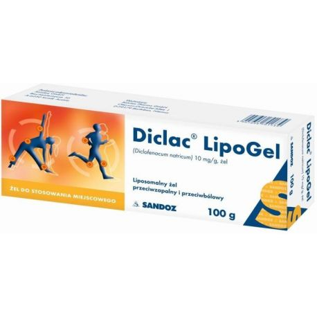 Diclac - Lipożel * 100 g
