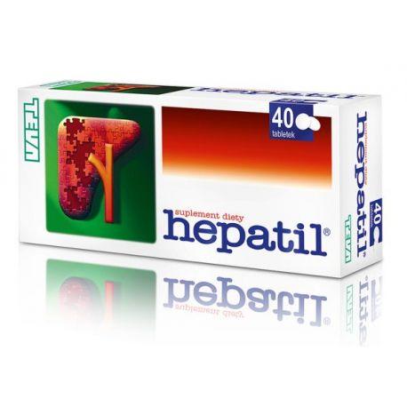 Hepatil * 40 kaps