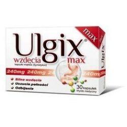 Ulgix - Wzdęcia max * 30 kaps