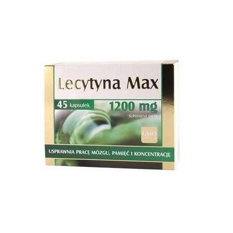 Lecytyna Max * 45 kaps