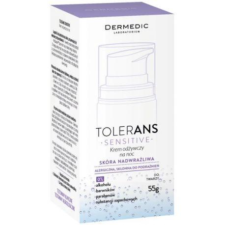 Dermedic Tolerans Sensitive *  Krem odżywczy na noc * 55 g