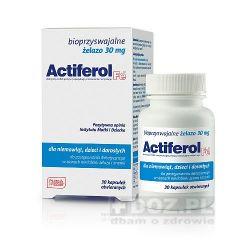 Actiferol Fe 30mg, 30 tabl