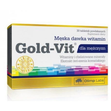 OLIMP Gold-Vit dla mężczyzn * 30 tabletek powlekanych
