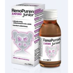 RenoPuren - Zatoki Junior - płyn * 120 ml