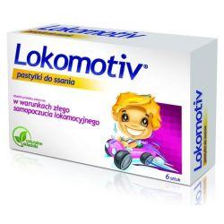 Lokomotiv - pastylki do ssania * 6 szt