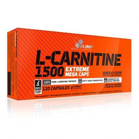 Olimp L-Carnitine 1500mg Extreme * 120 Mega Caps