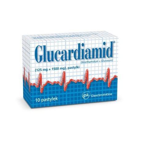 Glucardiamid - pastylki do ssania * 10 szt