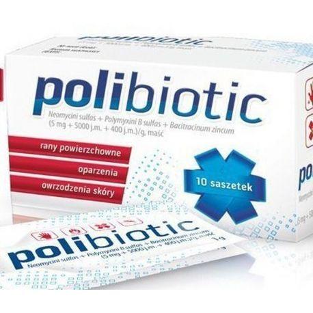Polibiotic  - maść * 10 saszetek
