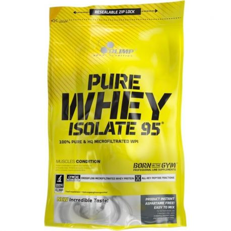 Olimp Pure Whey Isolate 95 * czekolada * 600 g