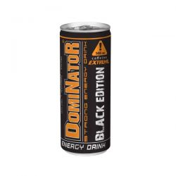 Olimp DOMINATOR - STRONG ENERGY DRINK * BLACK EDITION * 250 ml