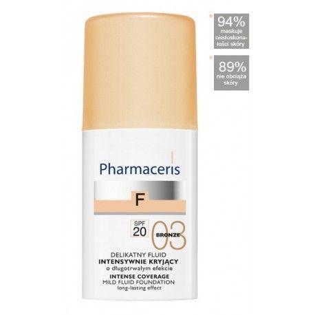 Pharmaceris F * Fluid kryjący 03 Bronz SPF 20 * 30 ml