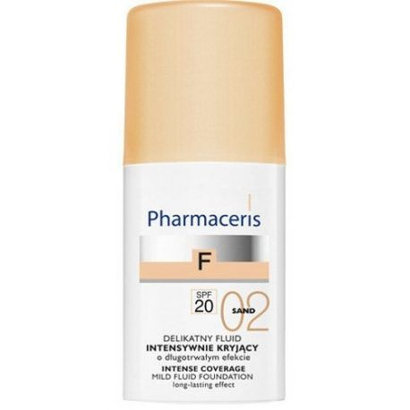 Pharmaceris F * Fluid kryjący 02 Sand SPF 20 * 30 ml