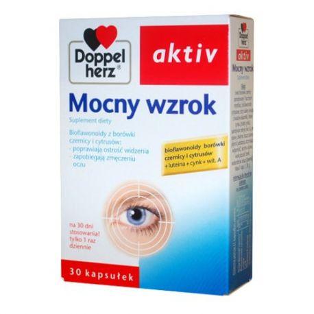 Doppelherz Aktiv - Mocny wzrok * 30 tabletek