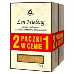 Len mielony - Duo Pack  * 200 g + 200 g