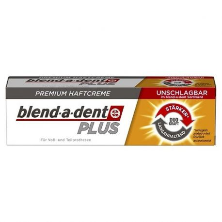 Blend-A-Dent Plus Dual Power * Klej do protez zębowych * 40 g
