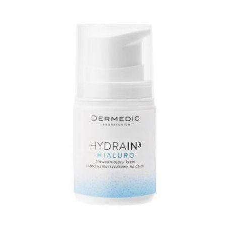 Dermedic Hydrain 3 Hialuro * Krem nawadniający, przeciwzmarszczkowy na dzień * 55 g