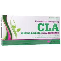 Olimp CLA z zielona herbata + L- karnityna* 60 kaps